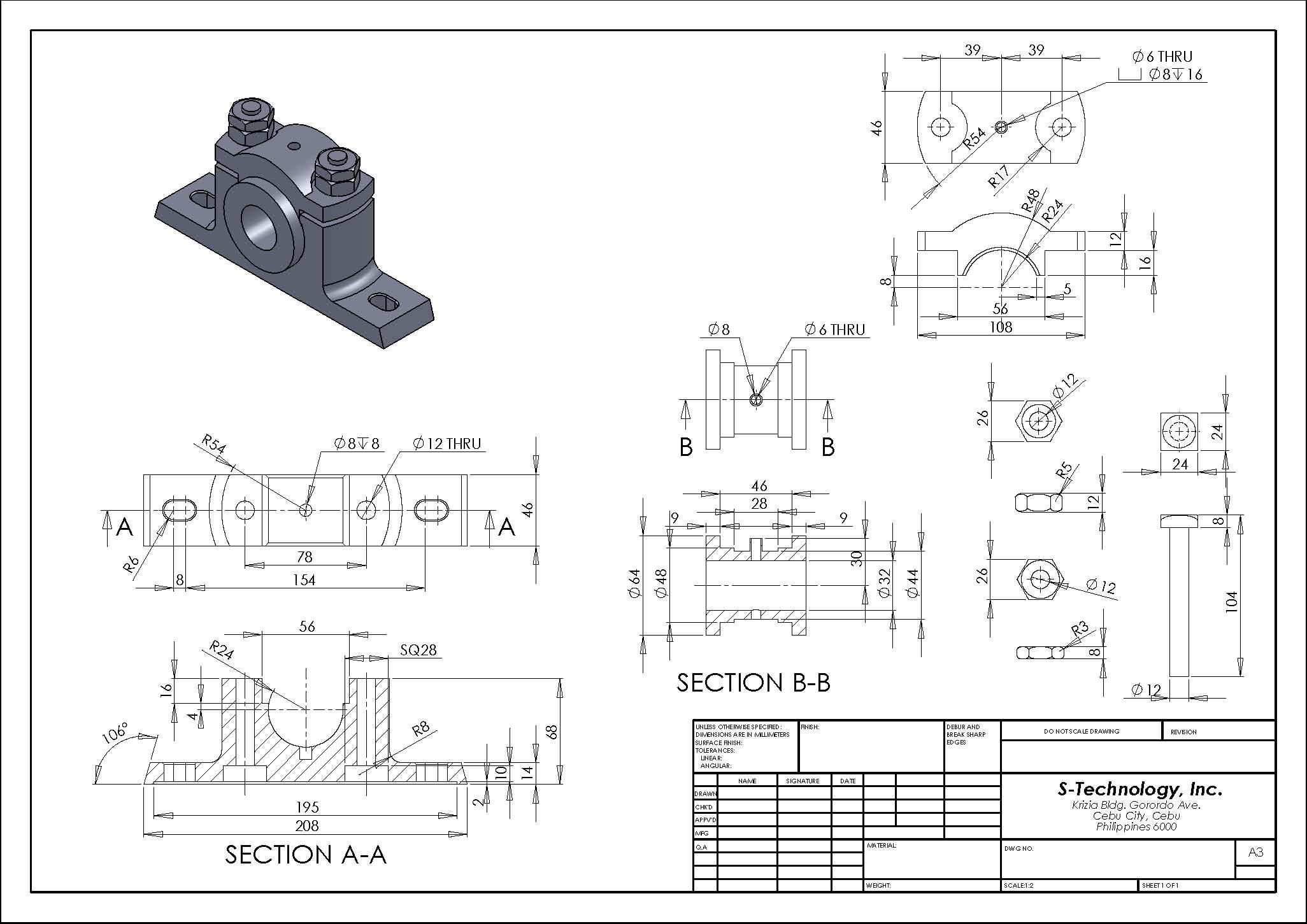 montaj teknik resmi -2