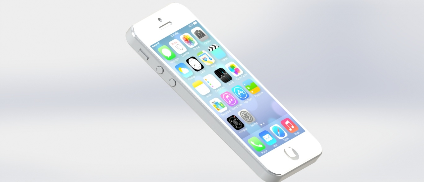 solidworks iphone 5s çizmek