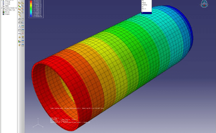 ABAQUS termal analiz