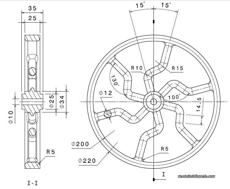 teknik resim örnekleri 6