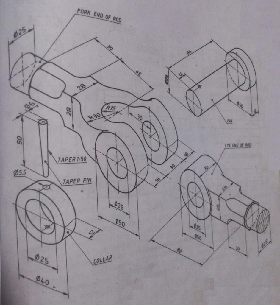 teknik resim örnekleri 11