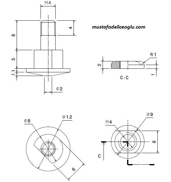 teknik resim örnekleri 14