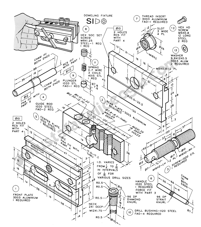 Montaj Teknik Resim Ornekleri 28 Makine Muhendisligi Ve Cad Cam